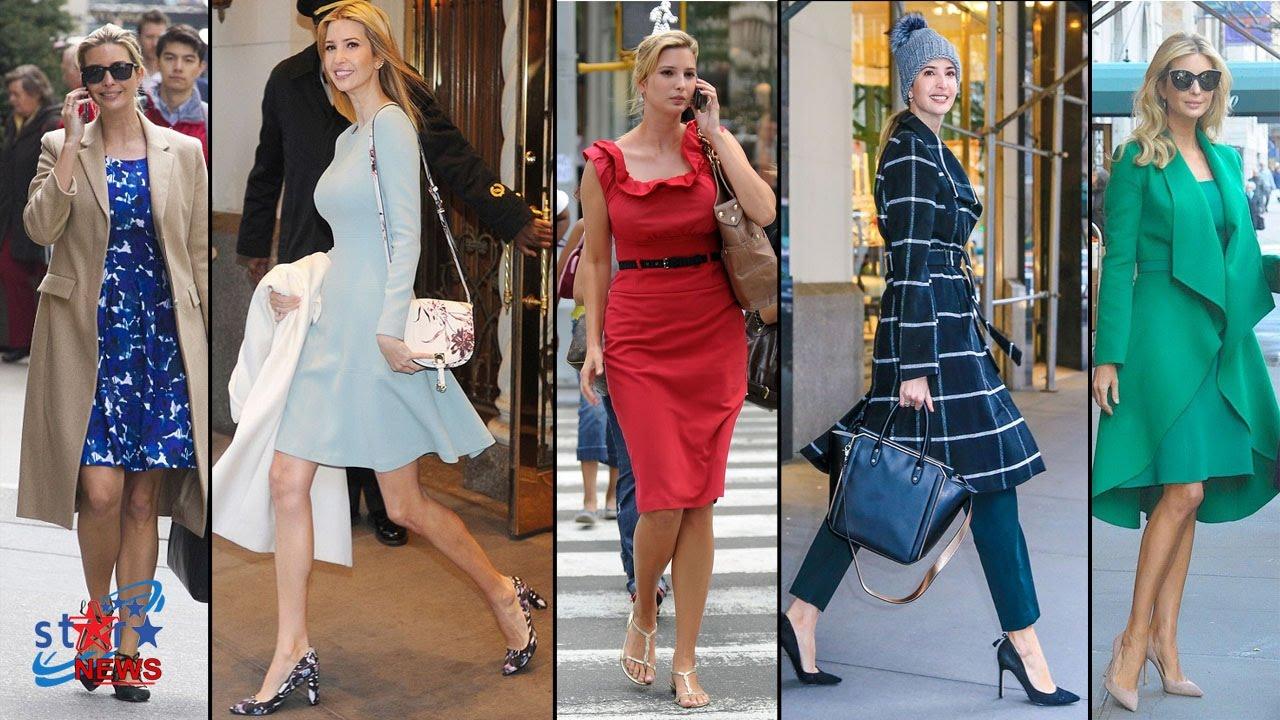 Ivanka Trump S Street Style 2017 Celebrity Fashion Celebrity News