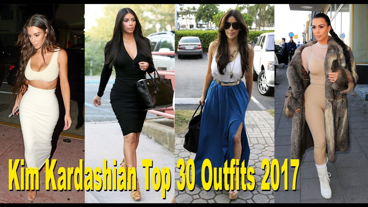Kim Kardashian New Casual Style 2017 Celebrity Fashion Style Clothes Celebrity News