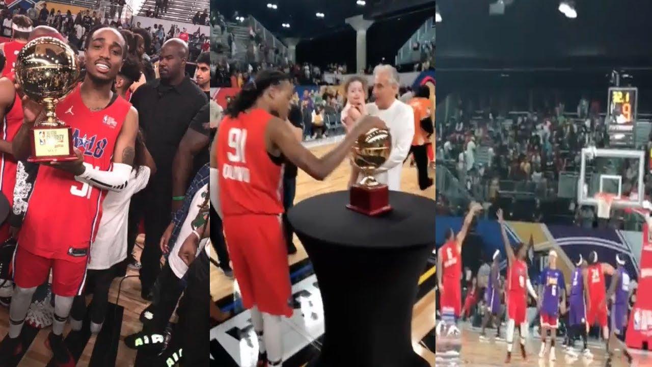 2018 All-Star Celebrity Game: Quavo of Migos wins MVP ...