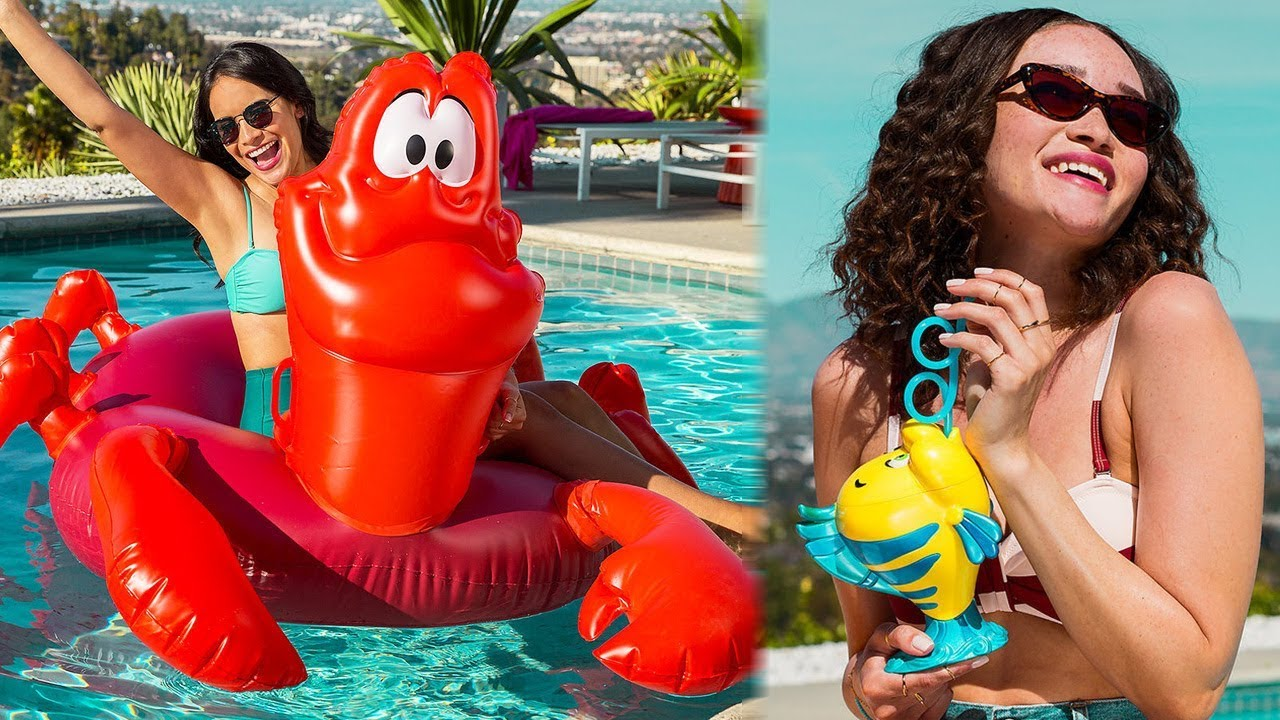 Disney Releases New LITTLE MERMAID Themed Pool Floats